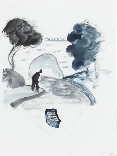 William Wegman, 'Untitled (Boat Bridge)', 1983