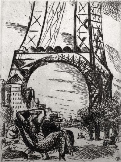 Marcel Gromaire, 'Champ-de-Mars', 1924