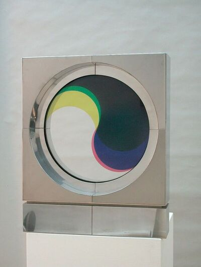 Fletcher Benton, 'Synchronetic Yin Yang R ', 1969