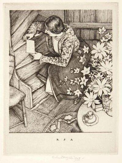 Robert Sargent Austin, 'THE LETTER', 1938