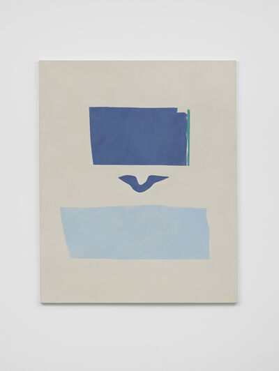 Peter Joseph, 'Blues, Turquoise and Light Blue', ca. 2016