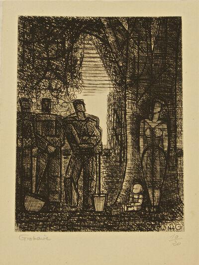 Marcel Gromaire, 'Les Jardiniers', 1961