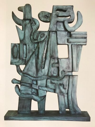 Carlos Merida, 'Los Guerreros', 1997