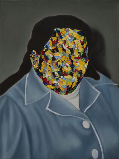 Rory Emmett, 'Coloured Portrait (Favouring Yellow)', 2018