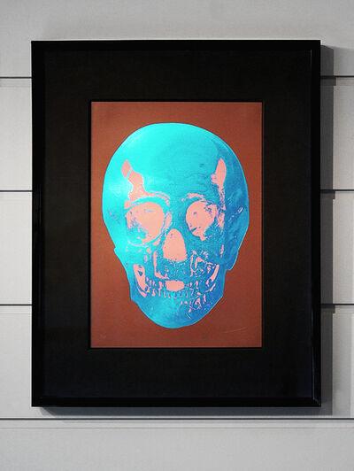 Damien Hirst, 'Skull, Brown/Blue', 2012