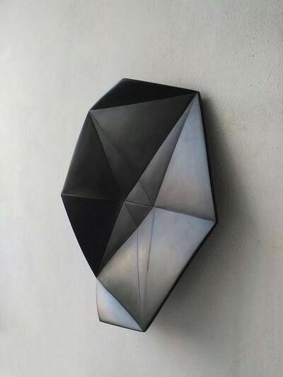 Vincenzo Marsiglia, 'Fold Star Black', 2017