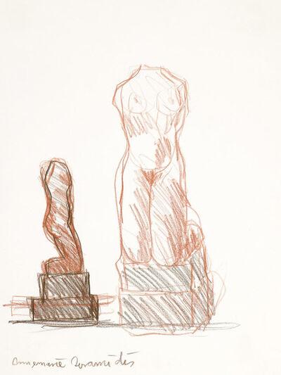 """Annemarie Avramidis, 'Kniende """"Marmor"""" (Kneeling """"Marble"""")', 1970"""