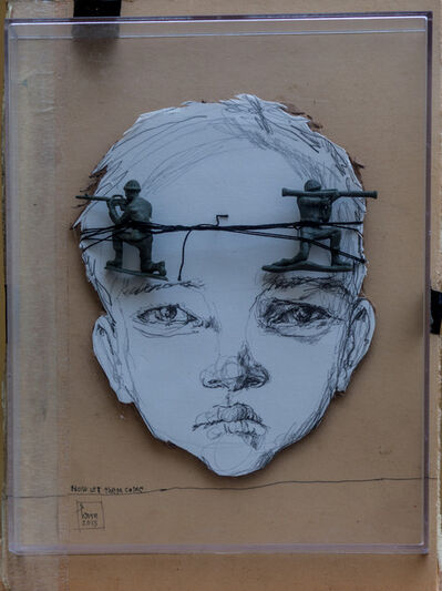 Herakut, 'Hera: Now Let Them Come', 2013
