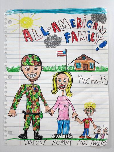Michael Scoggins, 'All-American Family XIII', 2010