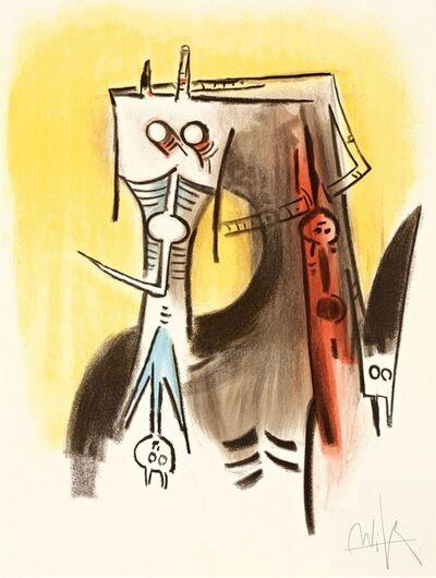 Wifredo Lam, 'Le regard vertical #1', 1973