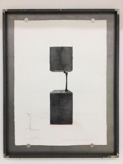 Yoan Capote, 'Autorretrato (estudio de resistencia)', 2019
