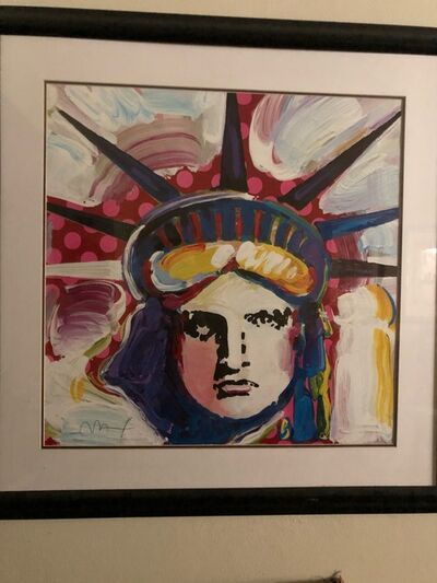 Peter Max, 'Liberty 2000 III - Limited Edition Lithograph by Peter Max', 2000