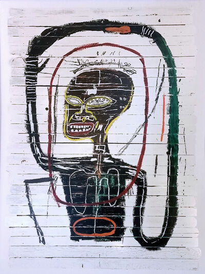 Jean-Michel Basquiat, 'FLEXIBLE', 2016