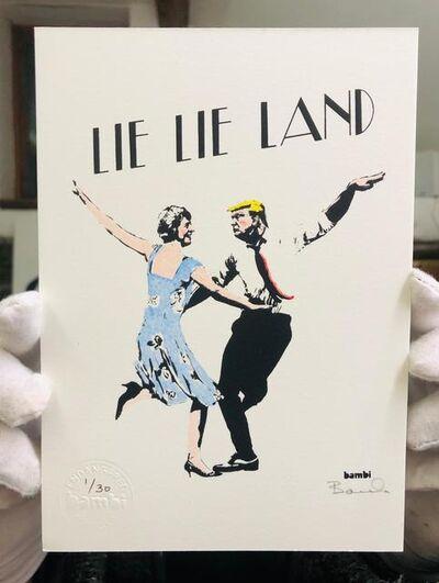 Bambi, 'Lie Lie Land (Hand Finished)', 2017