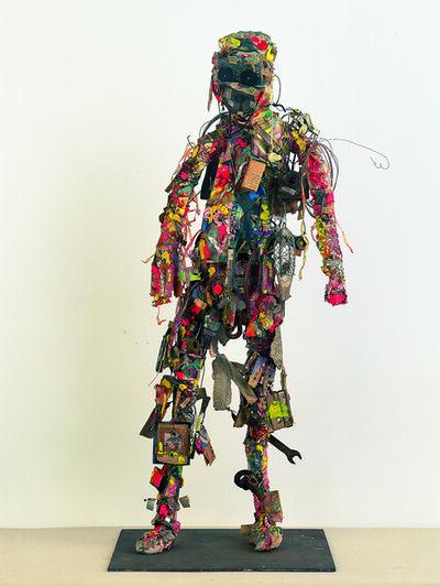 Shinro Ohtake, 'Radio Head Surfer', 1994-1995