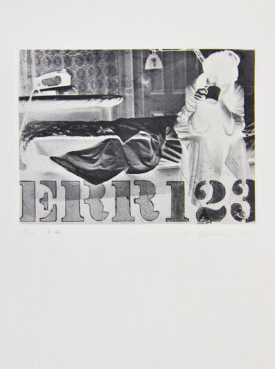 Robert Indiana, 'Err', 1964