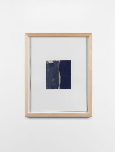 Peter Joseph, 'Study for Dark Grey with Dark Blue', 2007
