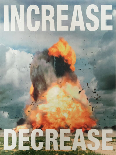 Cali Thornhill Dewitt, 'Increase Decrease', 2015