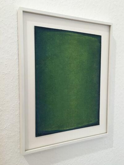 Lothar Quinte, 'Green gouache', 2000