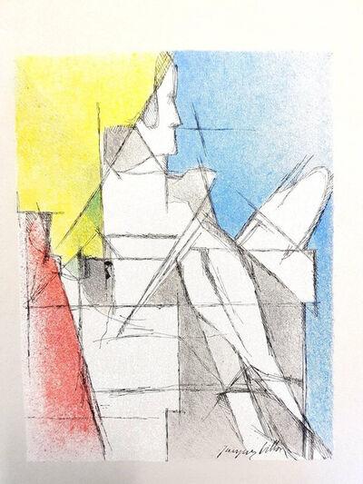 """Jacques Villon, 'Original Lithograph """"Man"""" by Jacques Villon', 1964"""