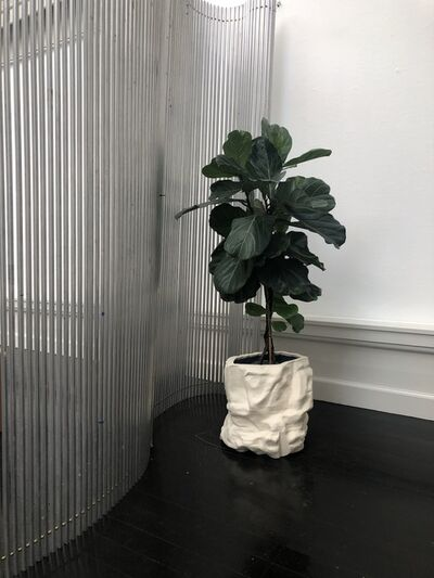 FOS, 'White Flowerpot', 2018