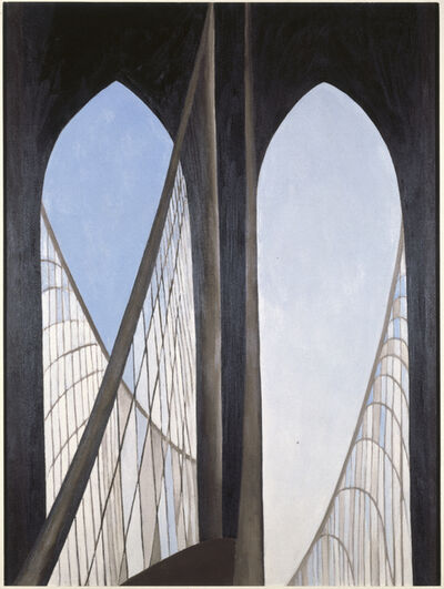 Georgia O'Keeffe, 'Brooklyn Bridge', 1949