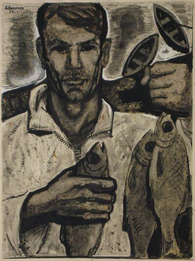 Vadim Semenovich Velichko, 'Fisherman', 1972