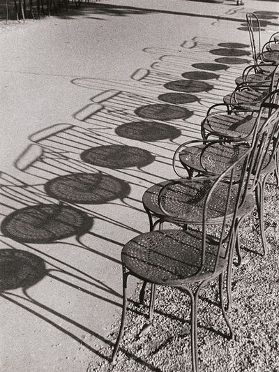 André Kertész, 'Chairs of Paris', 1929/1930-40s