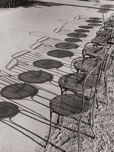 André Kertész, 'Chairs of Paris', 1929/1930-40s
