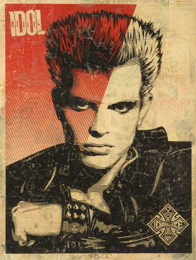 Shepard Fairey, 'Billy Idol', 2008