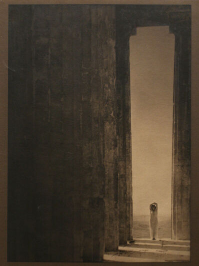 Edward Steichen, 'Isadora Duncan - Columns of the Parthenon', 1921