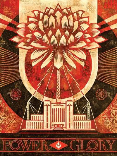 Shepard Fairey, 'Green Power, Version 1', 2014