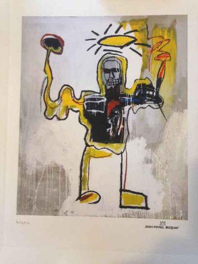 Jean-Michel Basquiat, 'Untitled (Black Athlete) Repro', 1982