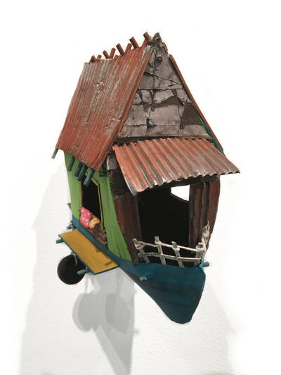 Sherry Rusinack, 'Aqua Lodge', 2019