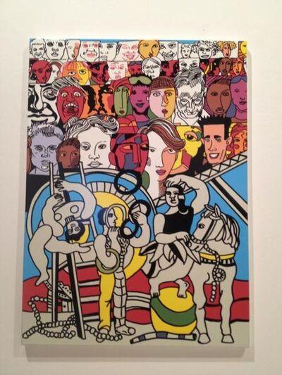 Erró, 'Acrobats', 2011