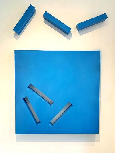 Lori Cozen-Geller, 'Patience, Blue', 2008