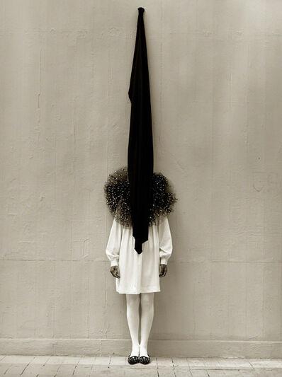 Albert Watson, 'Leslie Weiner, Yohji Yamamoto, London (Flag)', 1989