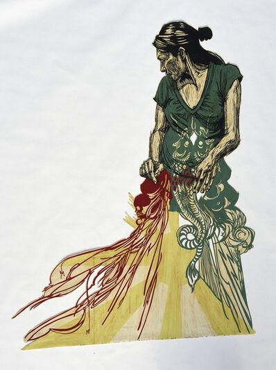 Swoon, 'Zahra', 2007