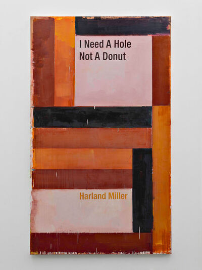 Harland Miller, 'I Need A Hole Not A Donut', 2016