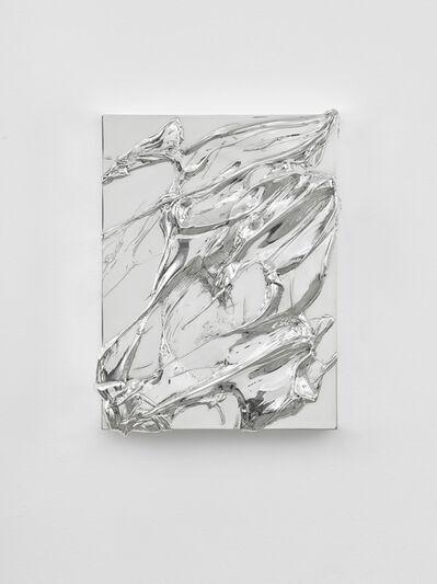 Jason Martin, 'Untitled Silver IV', 2017