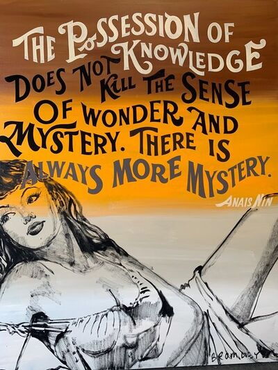 David Bromley, 'The possession of knowledge', 2019