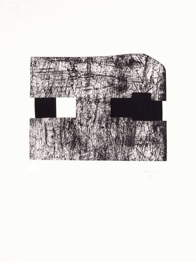 "Eduardo Chillida, 'Untitled (from the portfolio ""Für die Pinakothek der Moderne"")', 1994"