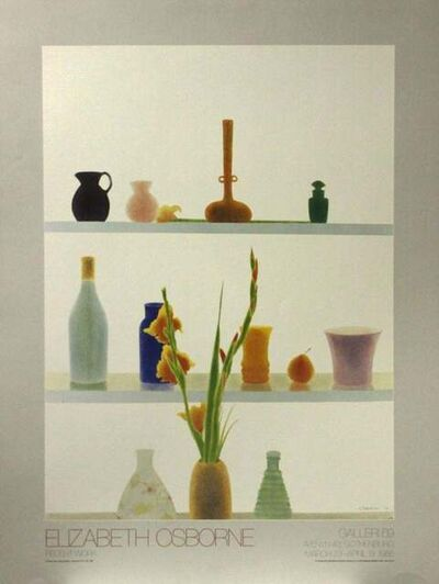 Elizabeth Osborne, 'Still Life with Orange Gladiolas', 1985