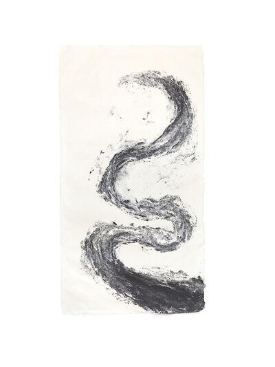 Monika Grzymala, 'Serpent Pulp Painting (Morph)', 2015