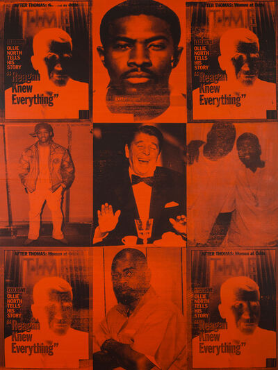 Knowledge Bennett, 'Reagan Knew Everything (Crack Killed)', 2016