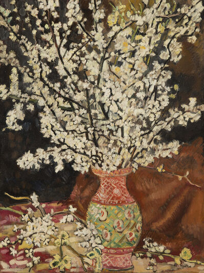 Louis Valtat, 'Bouquet de branches de cerisier', ca. 1928