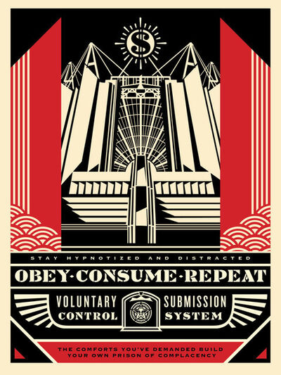Shepard Fairey, 'Church Of Consumption ', 2017