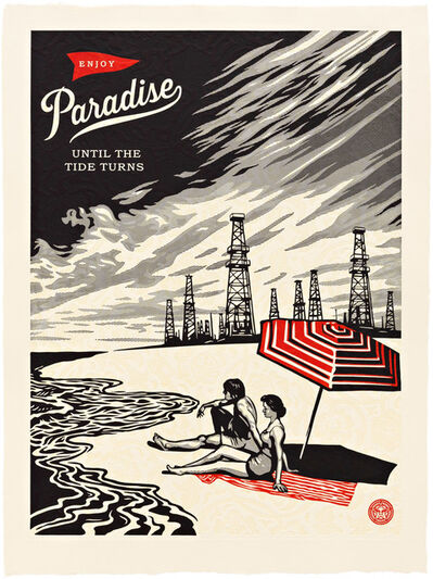 Shepard Fairey, 'Paradise Turns', 2015