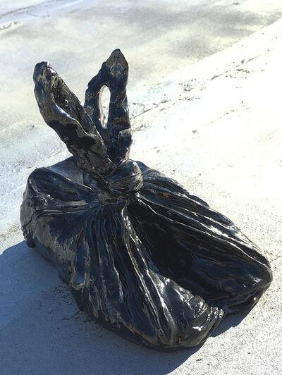 C.J. Chueca, 'Shoes in a trash bag', 2016