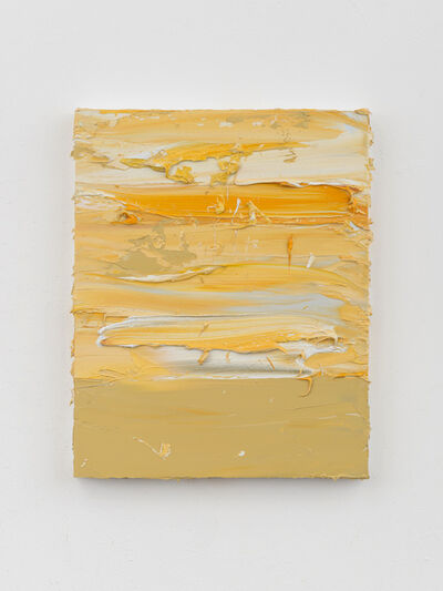 Jason Martin, 'Untitled (French Ocre Havane/Cadmium Yellow Deep/Mixed White)', 2019